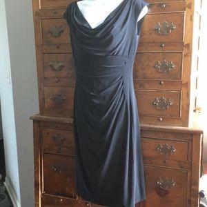 Lauren Ralph Lauren Cowl Neck Dress Size 4
